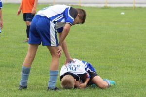Statistički podaci o povredama djece u fudbalu